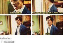 Sherlock / Gotta let my geek out :)