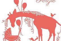 BABY - geboortekaartje - Geertje Aalders / Bekijk de hele collectie geboortekaartjes op: http://liefleukeneigen.nl/nl/geboortekaartjes/collecties/geertje-aalders/ / by Lief Leuk & Eigen geboortekaartjes