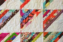 Scrap Quilts / Quilt patterns and tutorials to use for scraps and leftover fabric