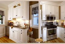 Functionality in a Compact Kitchen - Showplace Cabinets / Savannah Inset Door Style