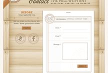 Webdesign - Contact page