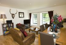 The Calder Apartment (RW12) / This property is on the first floor; has views over the Great Glen mountain range; has two double bedrooms; en-suite with shower cubicle and toilet; family bathroom with bath and shower over the bath.