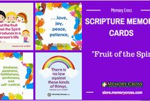 Scripture Memory Cards and Tracts / Memorizing Scripture is important in helping your children grow in their relationship with Christ. Kid's minds are like sponges, soaking up and remembering information at an amazing rate. They can easily memorize one or two Bible verses a week, which becomes a strong foundation and if you are an adult feeling God calling you to memorize Scripture Memory Cross cards make learning Scripture easier.