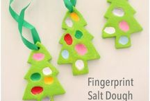 Christmas ornaments / A beautiful collection of beautiful Christmas ornaments, easy kids Christmas Ornaments and