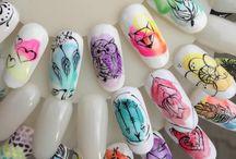 nail blur effect