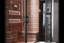 sauna e docciasauna
