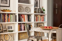 Lounge shelving