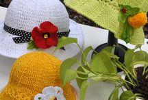 Chapeaux crochet