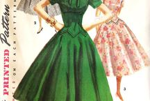 Awesome Vintage Patterns / Beautiful vintage patterns for sewing and fashion inspiration.