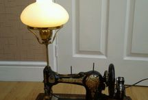 Sewing machine lamps