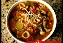 Soups and More / Different kinds of soups, chilis, and stews.  / by Home Jobs by MOM
