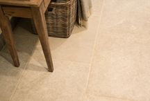 Limestone Floor Tiles / Here at Flagstones Direct, we offer a wide range of beautiful limestone floor tiles and flagstones.  Ranging from subtle greys to natural, warm toned honey colours, there's something to suit everyone in any style of home.  #limestone #flagstone #flooring