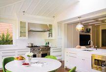 Kitchen Nook / Kitchen nook inspiration.