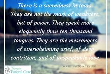 Grief Support / Resources to help those coping with loss and grief.