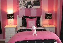 slaap kamer ideeën Nina 2 jaar
