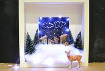 3D rahmen weihnachten