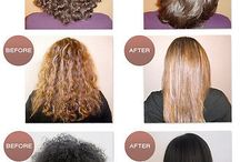 Chemical Straightening / Chemically changing hair texture