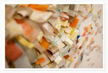 Paper art / Art that embraces qualities of paper and make it in to an art form