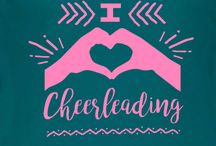 Cheer T-Shirt Ideas and Templates / Cheerleader t-shirt design ideas and templates for all things cheer and pom related. Design using our ideas or create your own custom cheerleading t-shirts in our custom t-shirt design studio online.