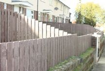 Recycled Plastic Fence Panels and Posts / hanit® recycled plastic fence panels and posts are maintenance free with being weather and rot resistant. Recycled plastic fencing is aesthetically pleasing and is often mistaken for timber fencing. Recycled plastic fence panels and posts have a smooth finish which is splinter free.  Fence panels made from recycled plastic, also known as recycled plastic lumber can also be used for repairs. http://www.hahnplastics.com/hanit-fence-panels-and-posts/