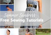 dresses / dress patterns and tutorials
