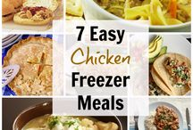 MAKE AHEAD MEALS / Make ahead dinners, easy meal prep, and how to get dinner on the table FAST!