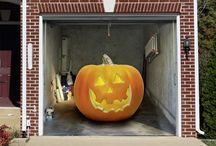 Halloween Dekoration  /Halloween Decoration / Halloween Decoration for Garage Doors