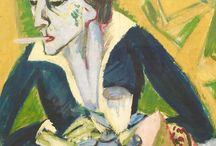 ERNST LUDWIG KIRCHNER EXPRESSIONIST PAINTER GERMANY
