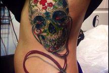nurse tattoo sleeve