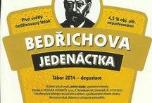 Pivní etikety z moji sbírky