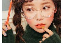 Korean Eyewear Makeup