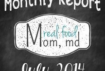 Monthly Reports / Retrospective reports on our life as food bloggers.