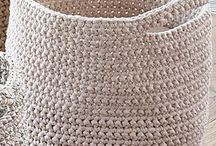 Crocheted home items