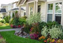 Front Yard Landscaping / Impress all of your neighbors but keeping your landscaping above the bar! Check out some of this pins for inspiration!