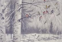 Traditional Illustrations / Older illustration works around 1800-1950