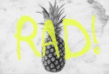 Rad / shit that I like to think is Rad