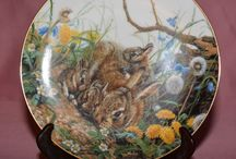 Collectible Plates / Beautiful Plates!  Wish I had room for them all.