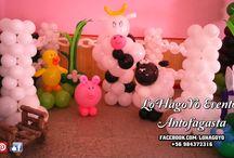 Cumpleaños / Decoraciones temáticas de cumpleaños, diseños y más diseños para elegir y llenar de color tu celebración.