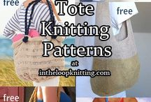 Knitting - bags and totes