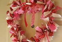 Wreaths and Door Decorations / Seasonal and educational wreaths and door hangings.