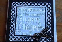Embossed Cards Ideas