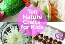 Nature play / craft & activities in nature