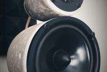 StoneBjelk vintage concrete and stone speakers www.stonebjelk.com