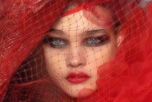 "Fashion""Spring☔️Summer-Red"""