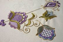 Embroidery gold-work