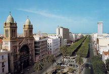 Tunisien - Tunis och Sousse / Tunisien som jag var en vecka i på 70-talet.