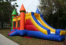 Color Themed Party! / Is your kids mad about a certain color? Purple? Blue? Yellow? How about a party all about color!  I'm inspired by a Mom who called today looking for Orange!  Make your next party your BEST party!  Call Party Jumpers at (941) 343-0370 or check us out at www.partyjumpersinc.com