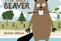 "Beavers / Picture Books and activities for Storytime. ""5 Busy beavers, working night and day. The 1st one said, ""Let's take time to play..."" / by Jane McManus"