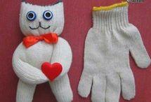 поделки из перчаток