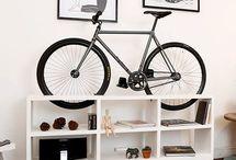 Bicikli tartó ötletek